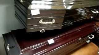 видео Полированные гробы