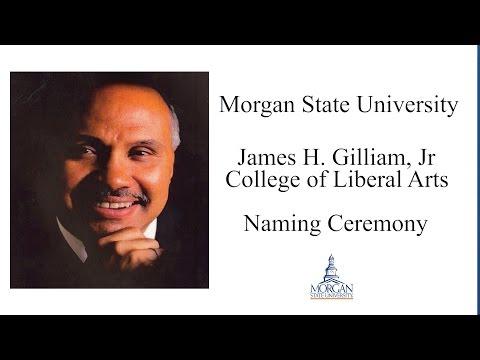 Morgan State University - James H. Gilliam Naming Ceremony