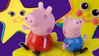Cómo hacer una estrella con Play Doh Plastilina   Estrellita dónde estás   música para niños