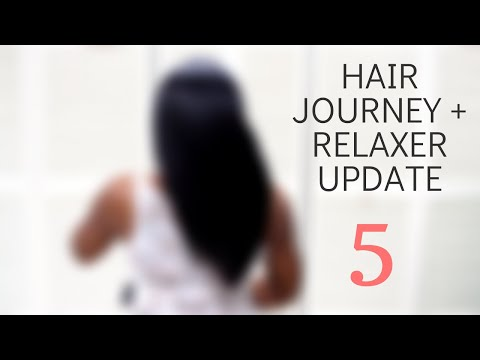 WHAT HAS MY HAIR BEEN UP TO IN THE LAST YEAR? || Relaxer Update 5