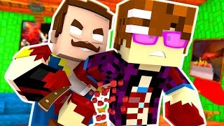 HAUNTED HELLO NEIGHBOR! | Hello Neighbor Minecraft Roleplay