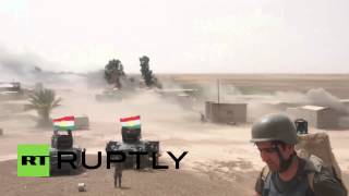 НОВОСТИ СЕГОДНЯ. Ирак. Курдские подразделения начали наступления на ИГИЛ под Киркука.
