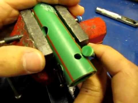 C mo reparar un tubo de agua agujereado how to repair a for Como reparar un cristal agrietado