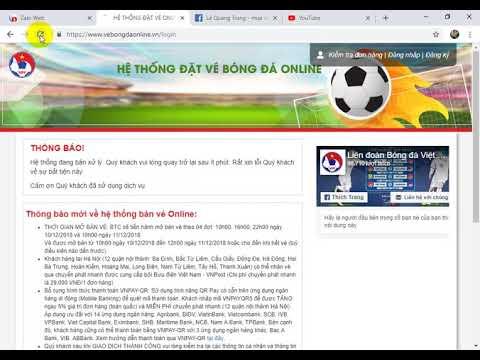 mua vé online trận chung kết vietnam malaysia ngày 10 12 2018