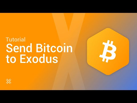How To Send Bitcoin From Coinbase To Your Exodus Wallet