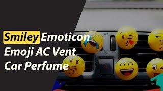 Smiley Emoticon Emoji AC Vent Car Perfume   AC Vent Car Perfume   Best Car Perfume