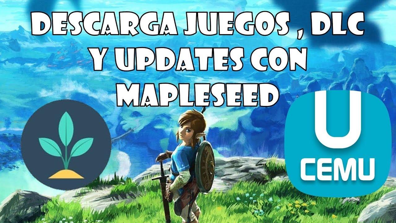 Descarga juegos de WiiU con ACTUALIZACIONES y DLC | Maple