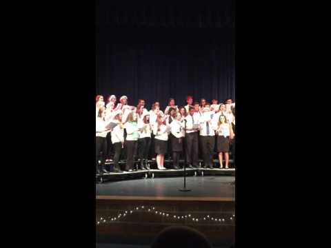 Hadley's Duet in the Inter Lakes High School Concert