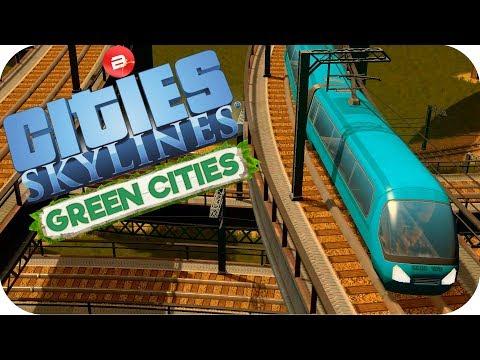 Cities: Skylines Green Cities ▶BIFFINITEA HYPERLOOP◀ Cities Skylines Green City DLC Part 42