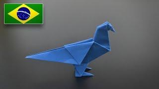 Origami: Pombo - Instruções em Português BR