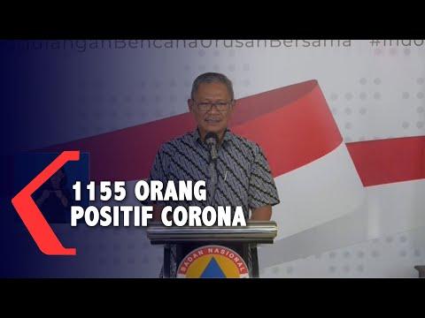 [UPDATE] 1155 Orang Positif Corona di Indonesia per Sabtu (28/3/2020)