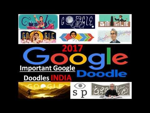 Important Google Doodles INDIA 2017