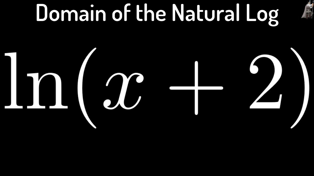 Domain of natural logarithm function fx lnx 2 youtube domain of natural logarithm function fx lnx 2 ccuart Image collections