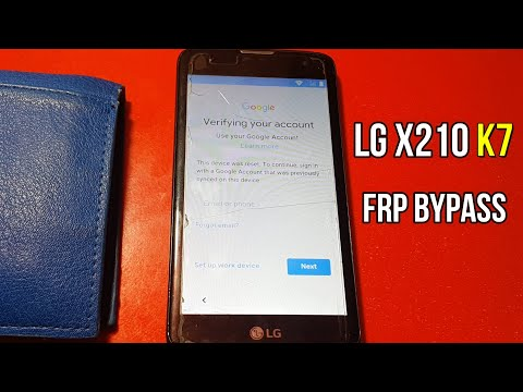 Lg X210 Frp Bypass Google Account Remove Last Method