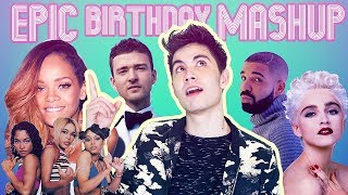 EVERY #1 SONG on my BIRTHDAY since I was born!! (EPIC B-DAY MASHUP) | Sam Tsui