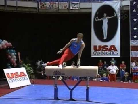 Paul Hamm - Pommel Horse - 2002 U.S Gymnastics Championships - Men - Day 2
