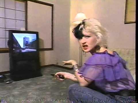 Cyndi Lauper in Japan (1989)