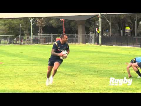 Wallabies: Quade Cooper step!