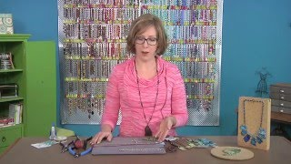 How to make a leather & turquoise slab necklace