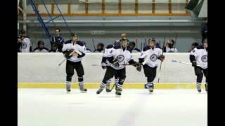 Samuel Girard et son équipe en Finlande.