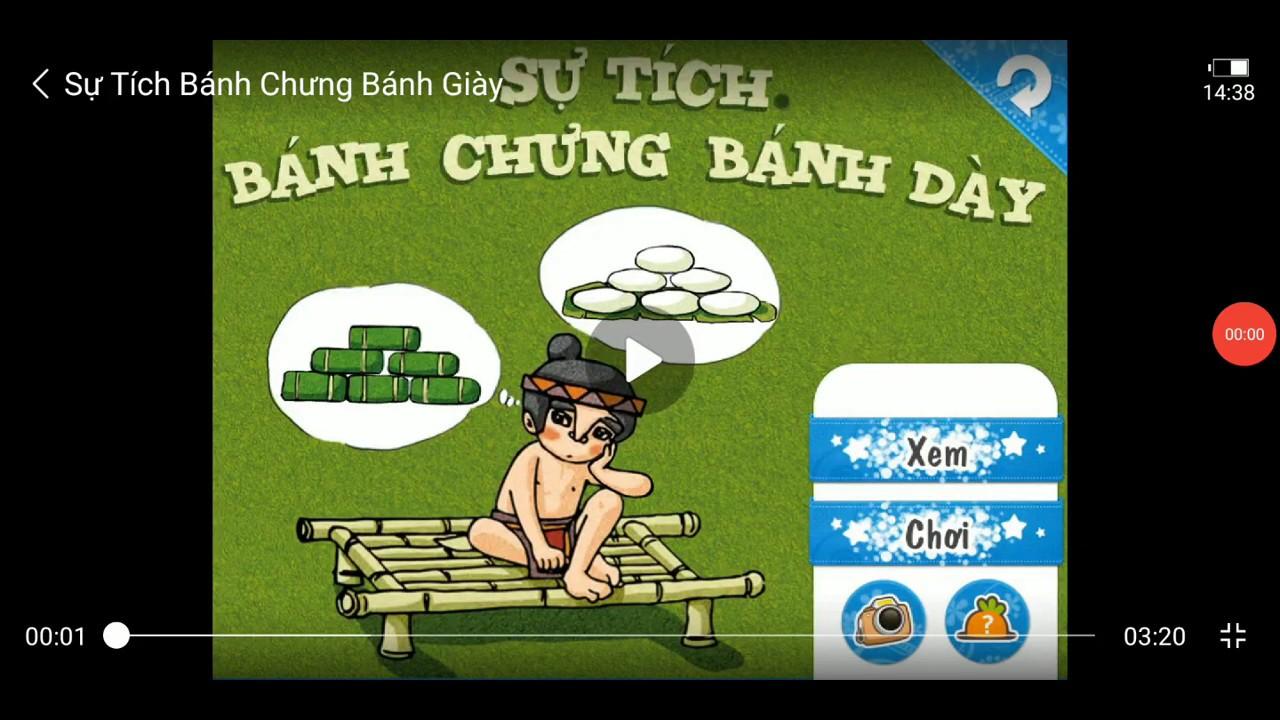 Sự tích Bánh Chưng Bánh Dày - Truyện Cổ tích Việt Nam - YouTube