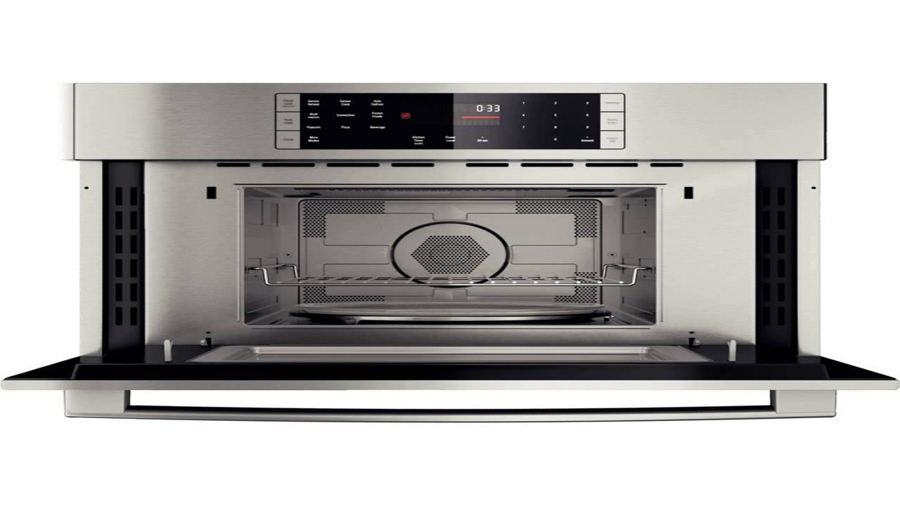 Bosch HMC80151UC 800 30 Stainless Steel Electric Single ...