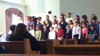 Childrens choir BBC