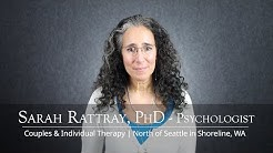 Seattle Individual Therapist in Shoreline, WA - Sarah Rattray, PhD, Psychologist