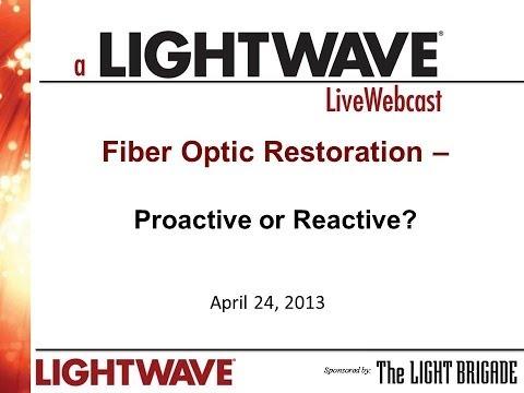 Webinar - Emergency Restoration (Proactive or Reactive)