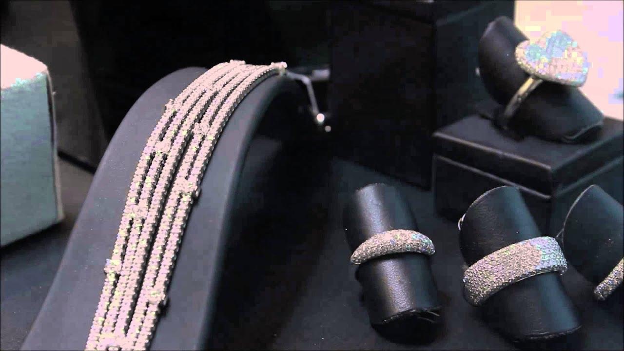 Glitter illuminazione led per gioiellerie youtube