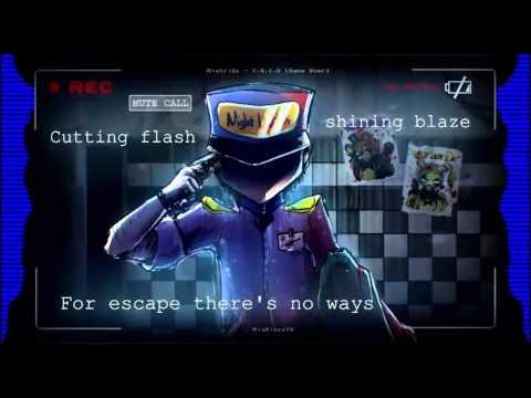 MiatriSs - Y.G.I.O. [Game Over] - INSTRUMENTAL KARAOKE 60 FPS (FNaF song)