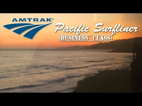 US06: Amtrak Pacific Surfliner // Business Class