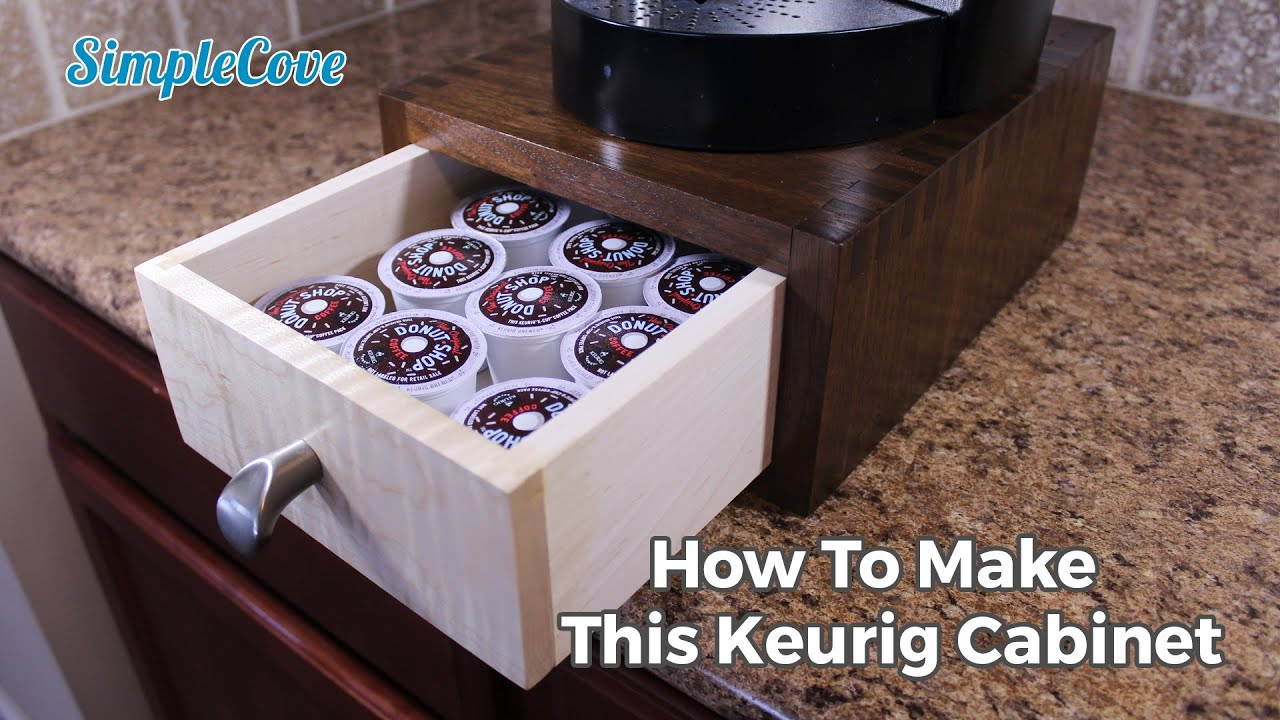 How To Make A Keurig K Cup Holder Youtube
