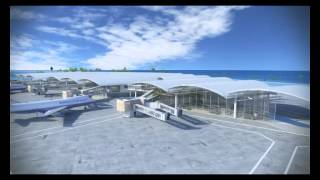 Repeat youtube video New Passenger Terminal at Ibrahim Nasir International Airport Male Republic of Maldives