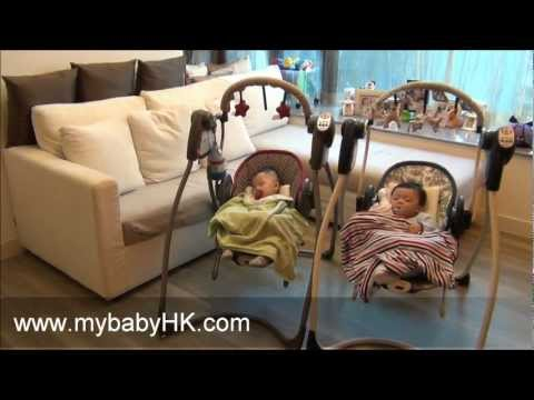 Best Baby Swing-- The Graco Swing And Bouncer 2-in-1 Starburst & Berkshire At Www.mybabyHK.com