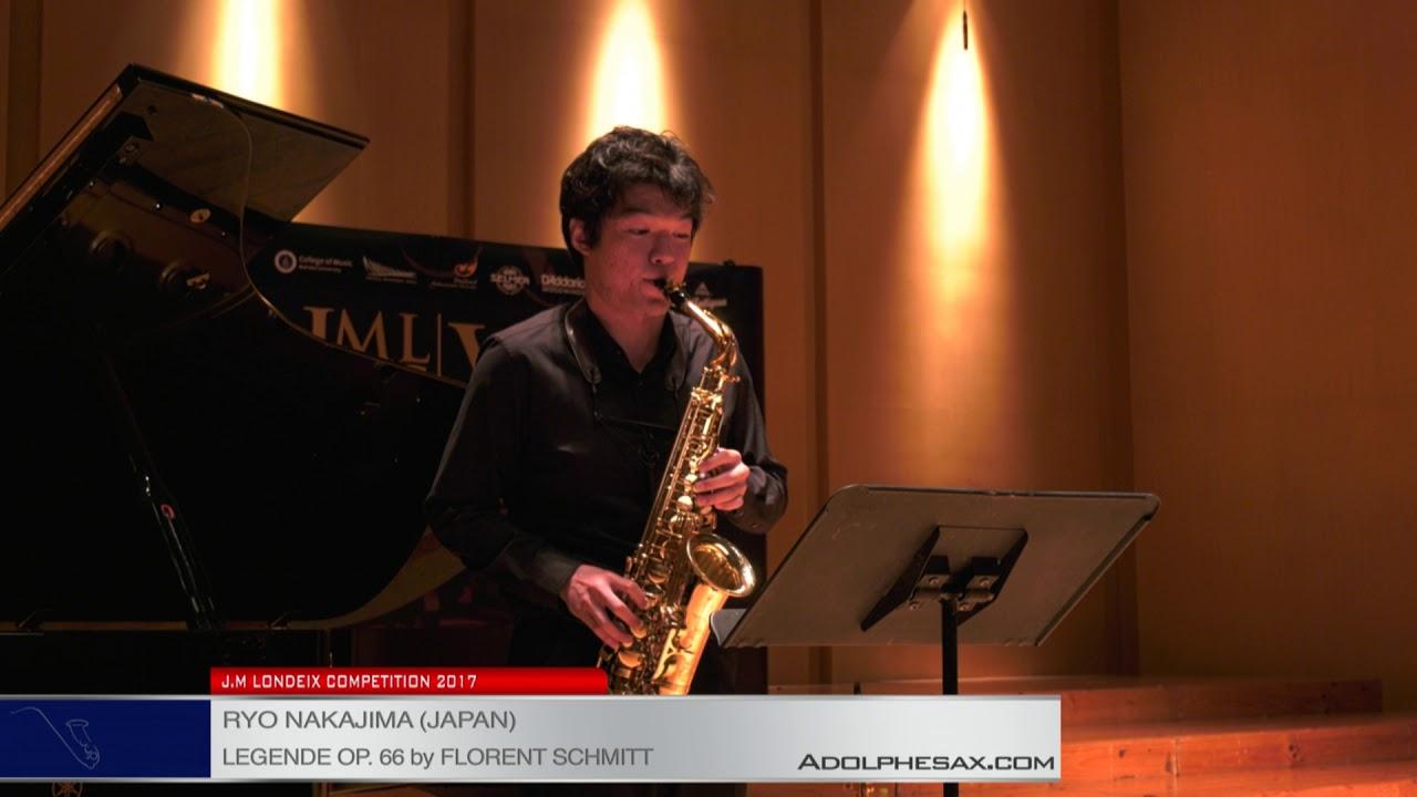 Londeix 2017 - Semifinal - Ryo Nakajima (Japan) - Legende op.66 by Florent Schmitt
