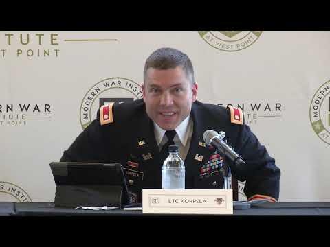 Panel 3 – Class of 2006 War Studies Conference (Nov 2018)