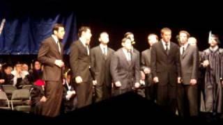 YU acapella - Maccabeats at 2009 Graduation