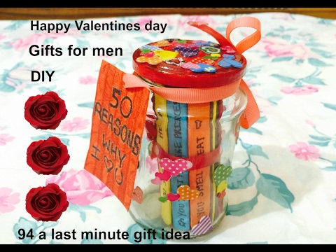 *VALENTINES DAY GIFT IDEA*|DIY,Gift ideas for Him/Men| *50 Reasons Why I love You* -Ft Namrata