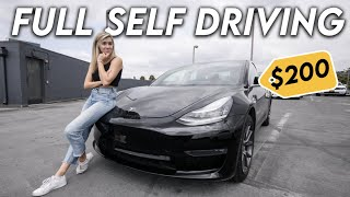 I Tried Tesla's $200/mo Full Self Driving Subscription... Is it worth it?