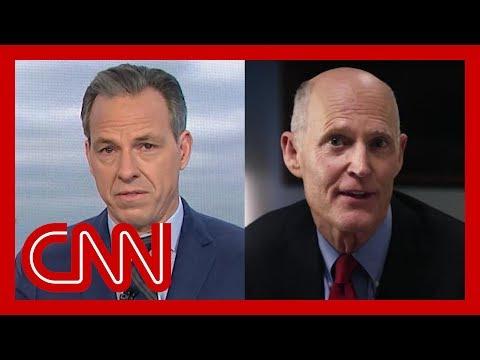 Sen. Rick Scott's Anti-Biden Ad Astounds CNN's Jake Tapper