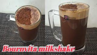 Summer special Cold Bournvita Milkshake recipe | Milkshake recipe  | Bournvita Milkshake recipe