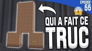 QUELQU'UN A CONSTRUIT ÇA... DANS MA BASE ! | Minecraft Moddé S4 | Episode 55