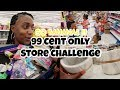 99 cent only store challenge / GO BANANAS!!!!