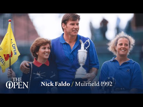 Nick Faldo wins at Muirfield | The Open Official Film 1992