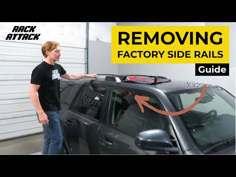 Removal of Factory Side Rails on the 2010+ Gen 5 Toyota 4Runner