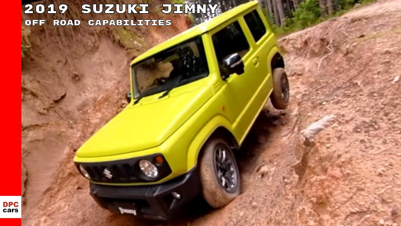 2019 suzuki jimny off road capabilities youtube. Black Bedroom Furniture Sets. Home Design Ideas