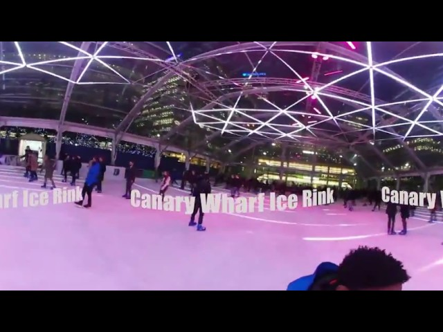 Luminocity in 360° | Canary Wharf Ice Rink