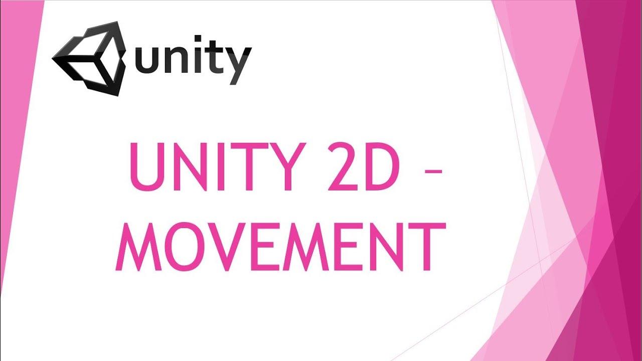 Unity5 2D ►Movement / WASD Steuerung◄ C# TEIL 1 German / Deutsch