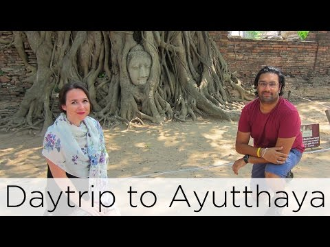 visit-to-ayutthaya---giant-river-prawns,-temples-and-crying-|-awesome-wave